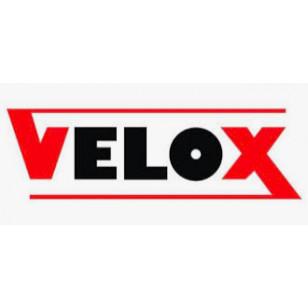 GUIDOLINE® VELOX® VINTAGE TRESSOSTAR 90 COTON TRESSÉ ROUGE POUR VÉLO FIXIE