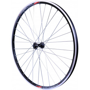 ROUE ARRIÈRE MACH1 ROAD RUNNER 700C Argent - SHIMANO RS400 TIAGRA K7 10/11V