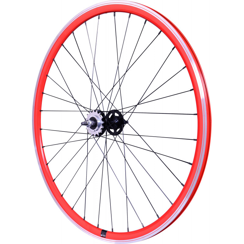 Roue Arrière Mach1 430 Rouge - Velox Track Flip/Flop Velox WHPISTRED1 Roues