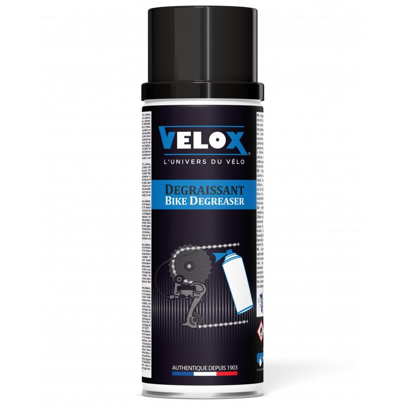 Nettoyant/Dégraissant Cassette et Chaine Velox - 400ml Velox E400 Produits d'entretien