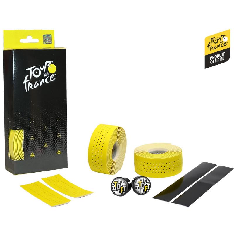 Guidoline Tour de France Classique Perforée - Jaune Velox G308K Tour de France