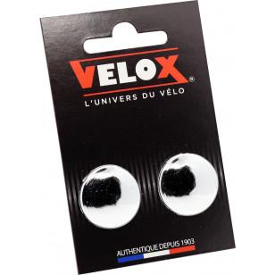 Embouts de guidon Velox - Chromés VELOX V027 Guidoline®
