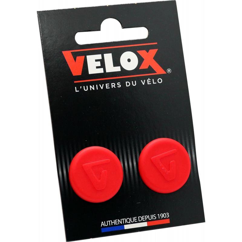 Embouts de guidon Velox - Rouge VELOX V027 Guidoline®