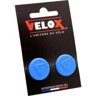 Embouts de guidon Velox - Bleu VELOX V027 Guidoline®