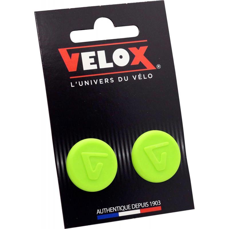 Embouts de guidon Velox - Vert Acide VELOX V027 Guidoline®