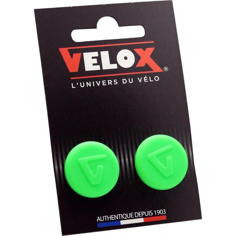 Embouts de guidon Velox - Vert Fluo VELOX V027K802C Guidoline®