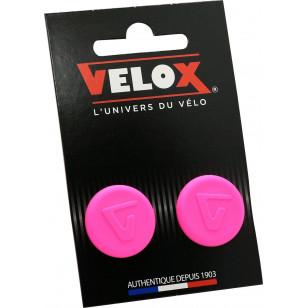 Embouts de guidon Velox - Rose Fluo VELOX V027K806C Guidoline®