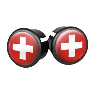 Embouts de guidon Velox - Suisse VELOX V027K-CH Guidoline®