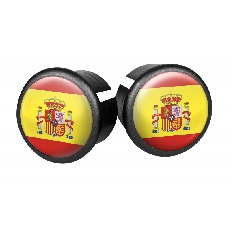 Embouts de guidon Velox - Espagne VELOX V027K-ES Guidoline®